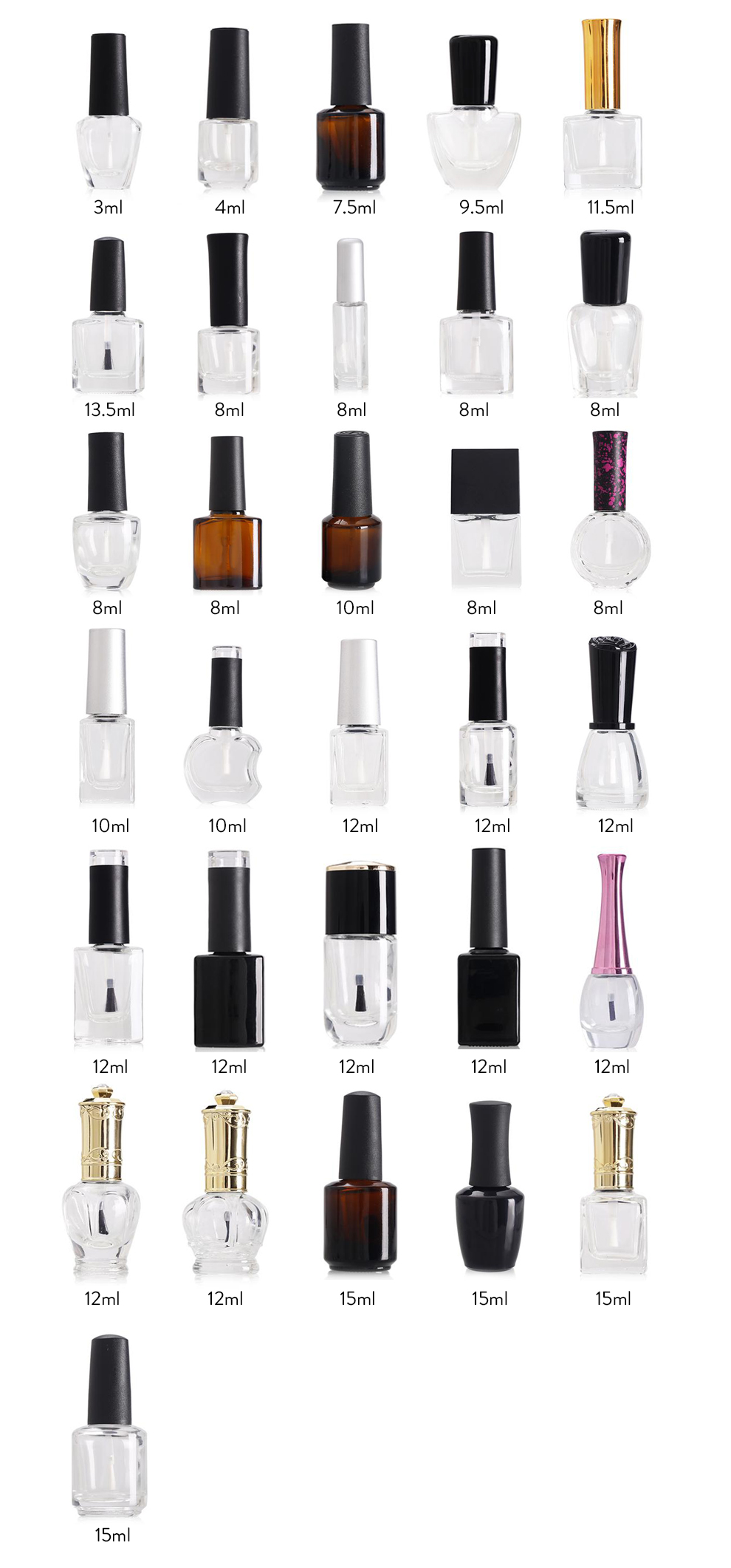 Professional OEM/ODM UV Soak Off Gel Nail Polish Manufacturer
