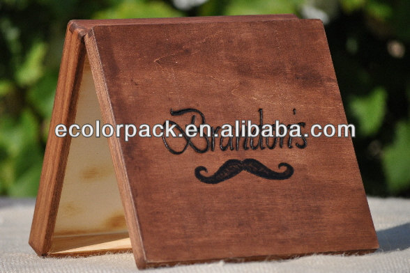 Antique wooden hot sale single cigar boxes