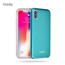 Metallic Green Jelly Ultra Thin Flexible Soft Rubber TPU Bumper Mobile Phone Case Cover For Apple iPhoneX
