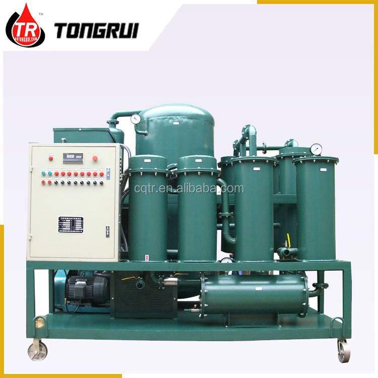 CE approved Lube oil filter recycling equipment for purify oil