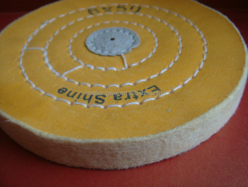 round big or small Fabric Wheel for jewellery polishing