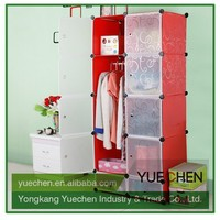 2015 China high quality diy moveable corner bedroom wardrobe