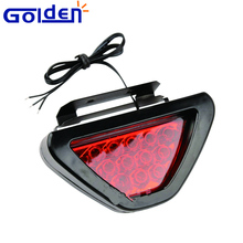 Red color Universal Car Blinking rear strobe LED flashing brake light