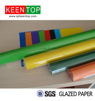 color glazed paper for gift wrapping /hand craft /advertising