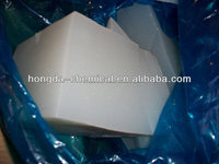 solid silicone rubber material for molding parts