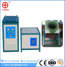industrial medium frequency aluminum 50kg induction melting furnace for sale