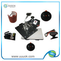 6 in 1 heat press printing machine for sale