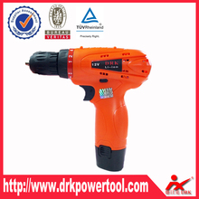 Reliable and safe lithium powered cordless <strong>drill</strong> 12v for Aluminium