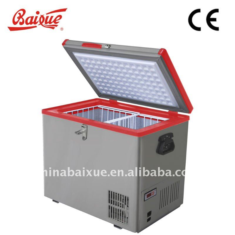 MINI RV Car freezer fridge, Outdoor camping, food transportation, trip, Ice cream booth,CE, ETL certified,UL,RoHS standard