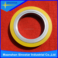 rubber coated metal slitting knife spacer