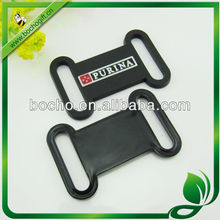 customized rubber logo tag for wristband