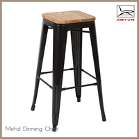 New design metal dining chairs modern furniture used for dining room set