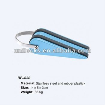 New Stainless Steel And Rubber plastick Door Stopper RF-038