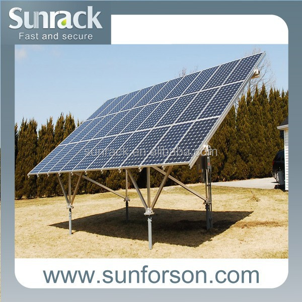 Off Grid Solar panel ground mounting brackets