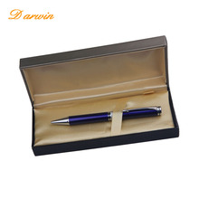 2017 Classic Luxury high quality sapphire metal ball-point pen with high quality gift box pens
