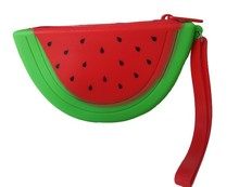 Personalized Silicone Watermelon Kids Wrist Wallet