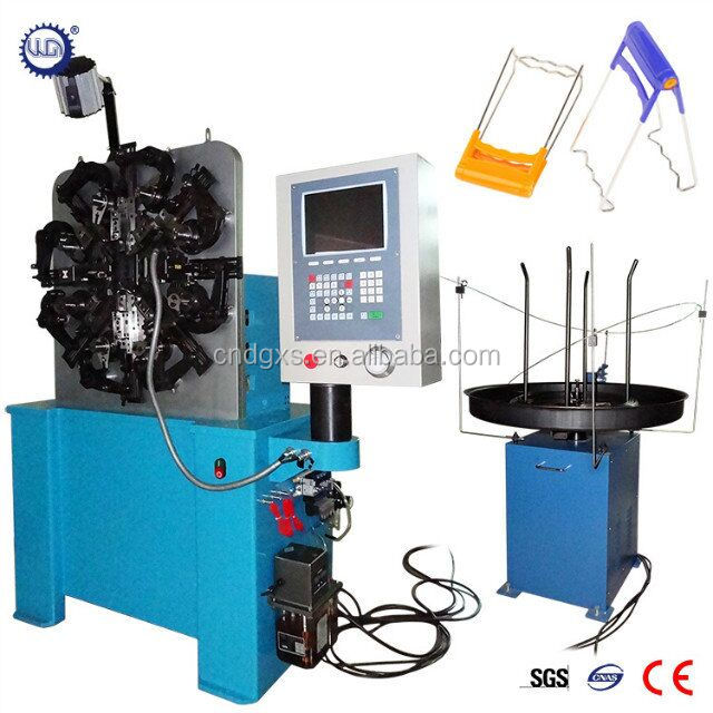 CNC Spring Forming Machine for bowl clamp