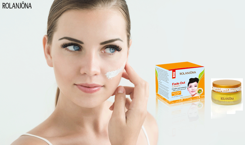 ROLANJONA FADE OUT EXTRA CARE BRIGHTENING NIGHT ANTI-WRINKLE ANTI DARK SPOTS REMOVING SKIN WHITENING CREAM