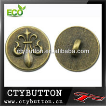 AS-047 antic brass big sewing buttons