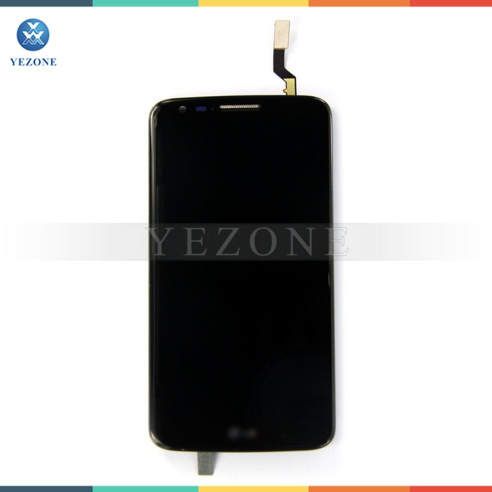 Hot Sale Mobile Phone White 1440 x 2560 TFT LCD for LG G2 D805 LCD with Touch Screen Digitizer Assembly