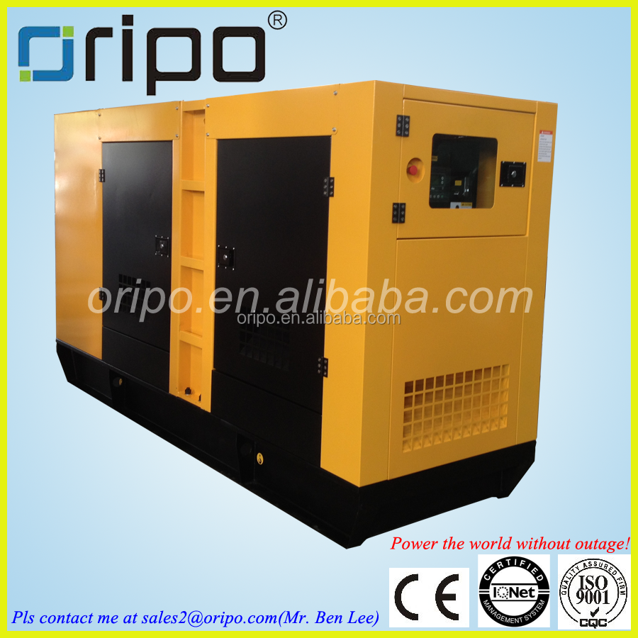 Factory price for 100kva silent genset with CE/ISO/SGS certificate