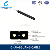 GJXFH Indoor Bow-type drop cable cheap q-box fiber optic cable