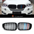 For X Series X3 F25 Black Front Grille Kidney Bumper Hood Grille