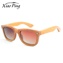 custom usa brand ray band men women bamboo sunglasses retro