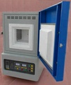 1700C Laboratory Box Muffle Furnace with PID control and 200x200x200mm chamber size