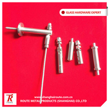 Stainless steel 316 cable end fitting for wire rope railing system