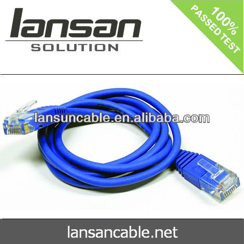 LANSAN Professional 4 pairs 24awg cat5e utp patch cord