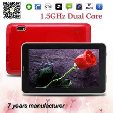 ZXS-A13 -2G cheap android 4.2 tab 7 inch dual core tablets 2G smart phone 512MB/4GB A23 Bluetooth Tablet PC