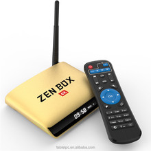 Promotional ZEN Box Z1 KODI Media Player Amlogic S905X 4K 64Bit Quad Core Android 6.0 Ott TV Box RK3399