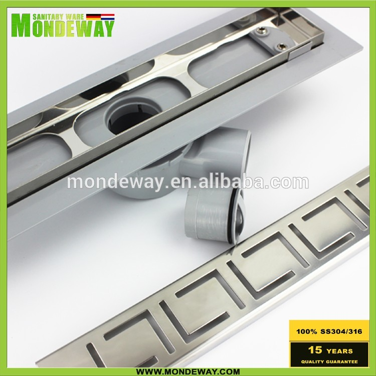 art and craft metal spring metal part manufacturer cnc luxury storm water shower run drain channel