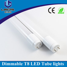 AC230V one side input dimmable 5500K 120cm 19w price led tube light t8