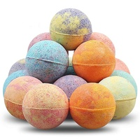 New Product Private Label Custom Colorful Essential Oils Handmade Natural Rich Bubble Fragrance Fizzy Organic Bath Fizzies