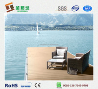 high quality wpc boat decking/wood plastic boat board/composite boat floor