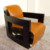 Modern hotel furniture cowhide leisure sofa chair XYN8001