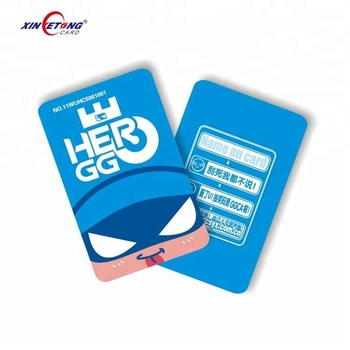 High quality factory price Plastic PVC Discount Gift Card With Paper Holder Free Design Artwork files of card