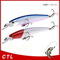 Chentilly03 CHMN1-110-13 fishing minnow lure fishing bait 110mm 13g Floating bait Flower Fox bait