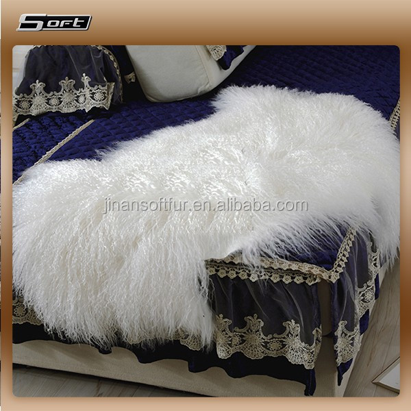 China factory 100% real mongolian lamb fur