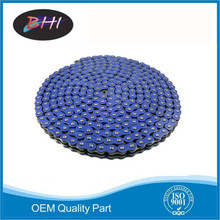 BHI brand OEM quality colored motorcycle chain of motorcycle part