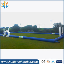 Giant Playground Inflatable Soap Soccer Field for Sale