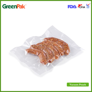 PA/EVOH/PE High barrier Sous vide bags for sausage