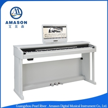 F-21D Up right 88 Keys hammer action keyboard Electronic Digital Piano musical instrument with LED Display