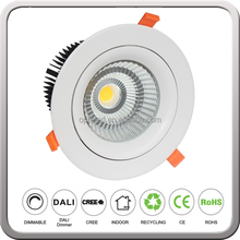 LED down lamp COB lighting anti-glare downlight 10 inch 70W 75W with high cri90 10inch
