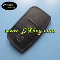 Good quality 3 Button remote button rubber key pad for Ford key cover for ford remote flip key