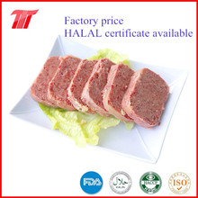 Luncheon meat in canned packing from manufacturer
