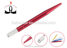 3D Microblading Permanent Makeup Eyebrow Tattoo Light Red Manual Pen