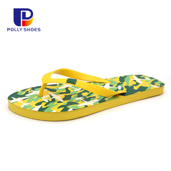 Hot Sale Casual New Fashion Cool Flip Flops Custom Printed Slippers